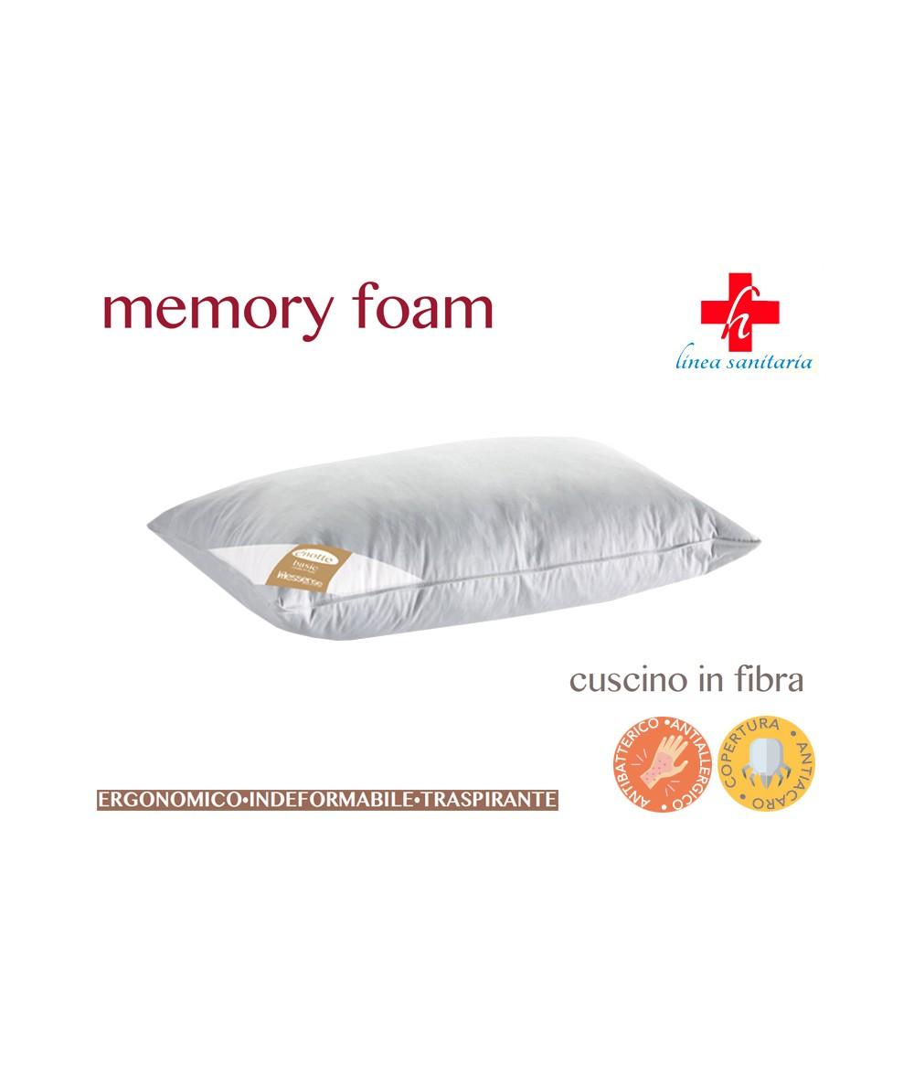 Guanciale Memory Foam Fibra...